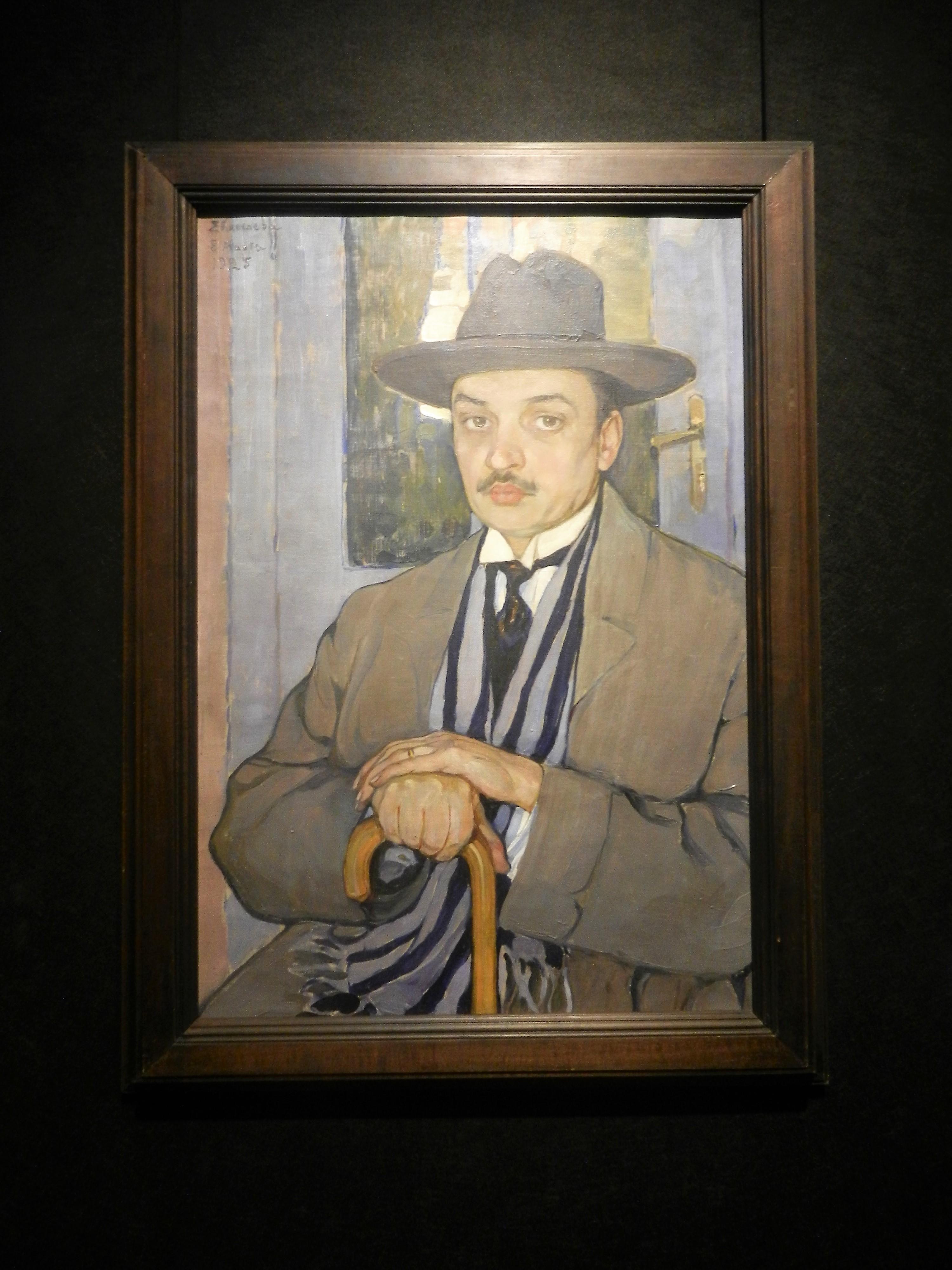 """""""Портрет профессора механики Антона Дмитриевича Билимовича"""", 1925"""