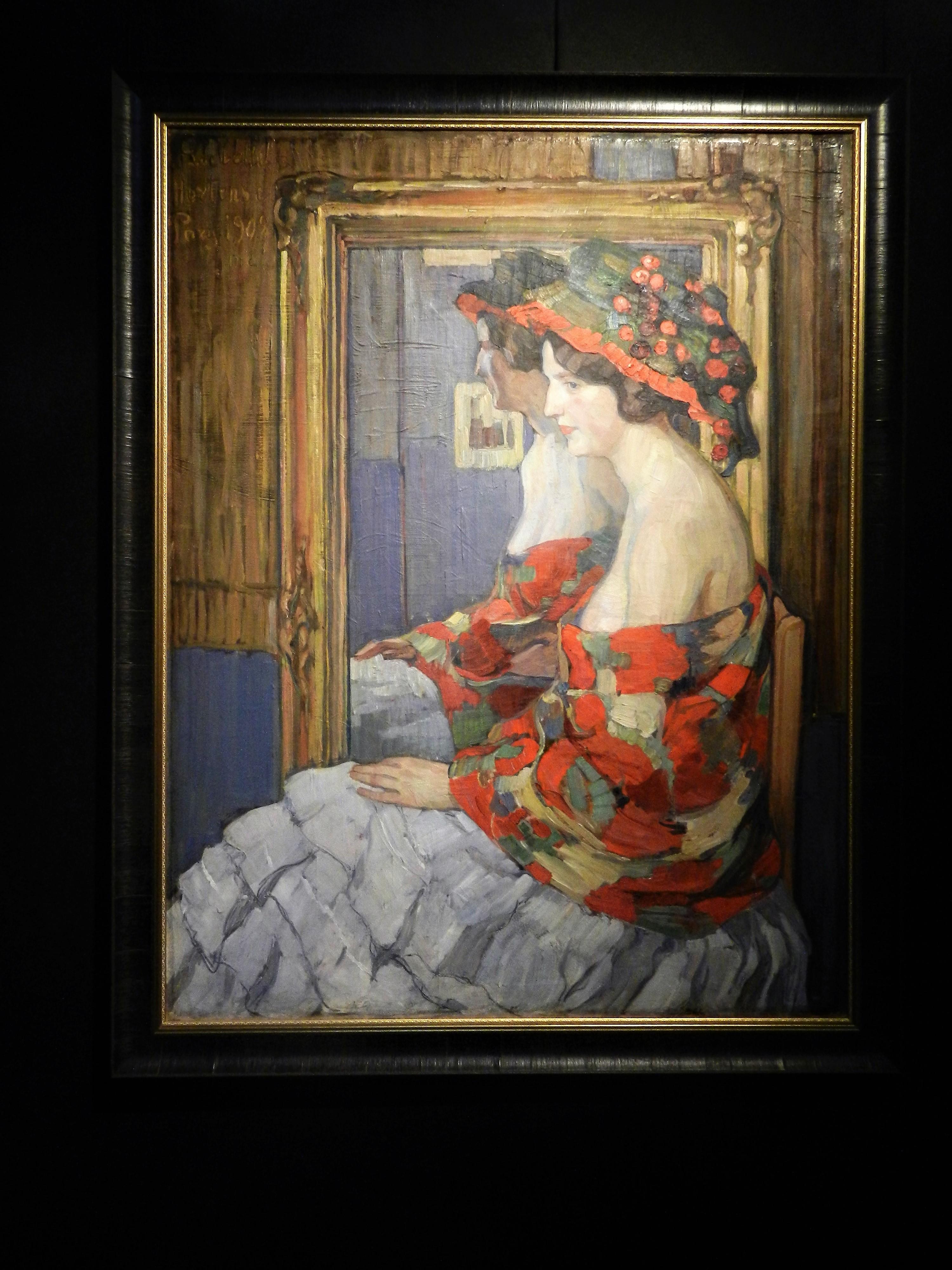 """""""Прекрасная гортензия"""", 1908"""