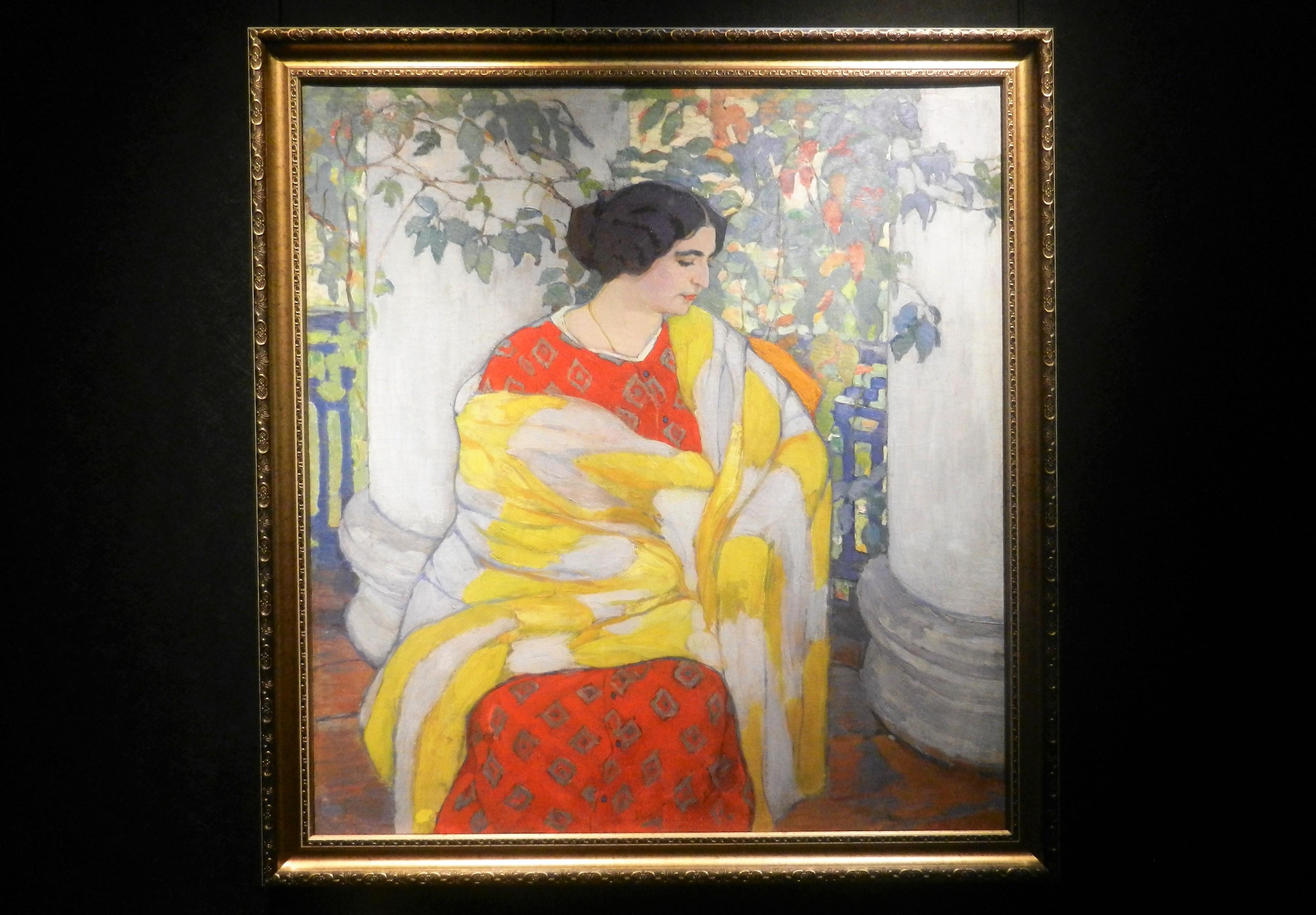 """""""На балконе"""", 1910"""