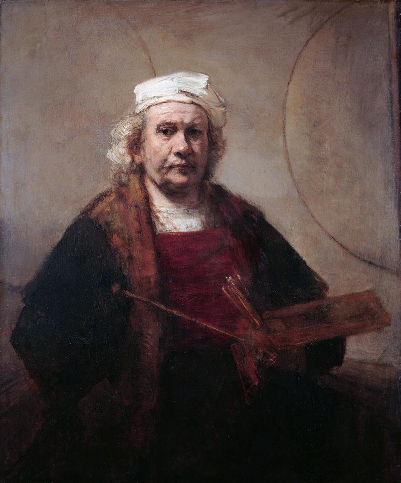 """Рембрандт """"Автопортрет"""", 1665/1669"""