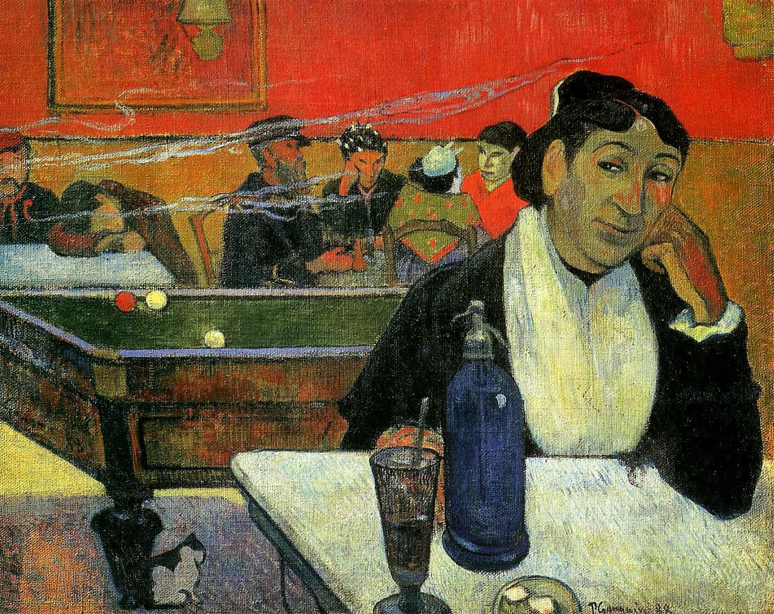 """Картину """"Ночное кафе, Арль"""" Гоген написал во время поездки к Ван Гогу"""