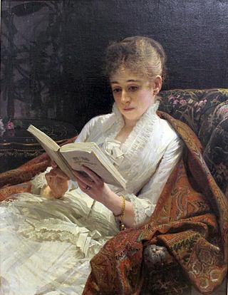 "Иван Крамской ""Портрет леди"". 1881"