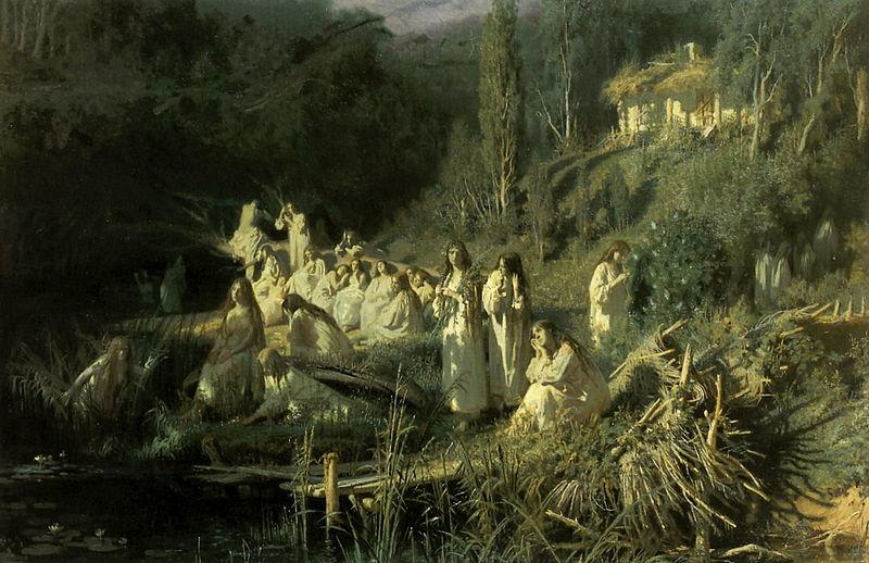 """Иван Крамской """"Русалки"""", 1871"""