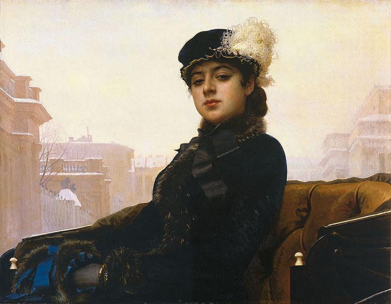 """Иван Крамской """"Незнакомка"""", 1883"""