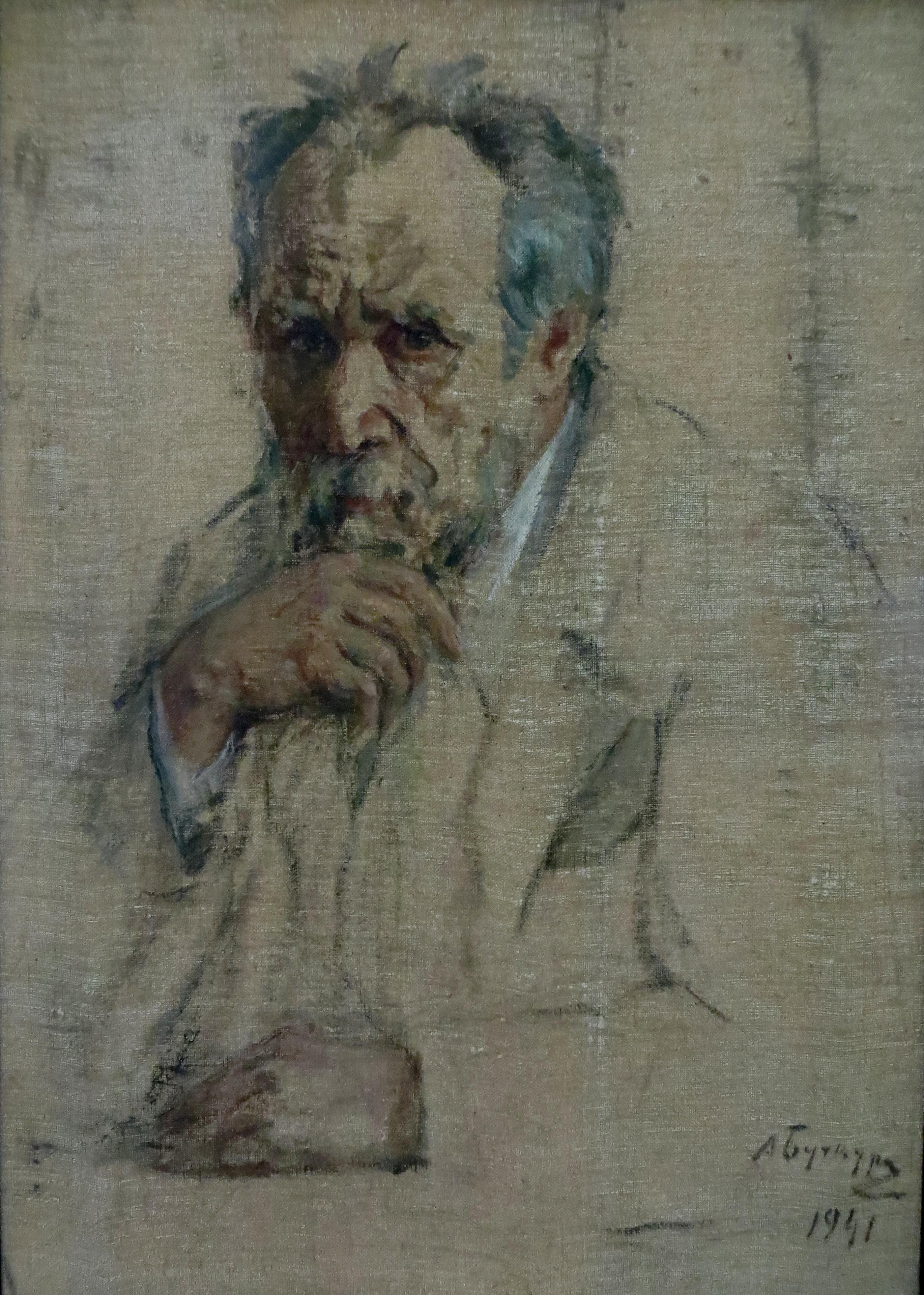 Проникновенный автопортрет стал последней работой художника