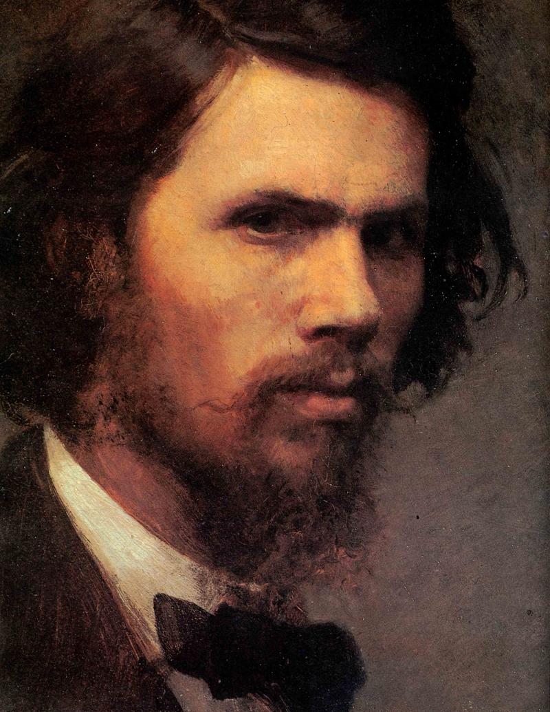 """Иван Крамской """"Автопортрет"""", 1867"""