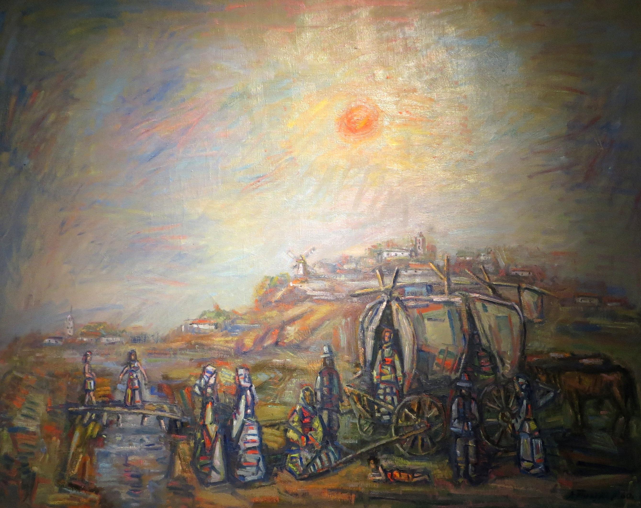 """Александр Тышлер """"Цыгане"""", 1960"""