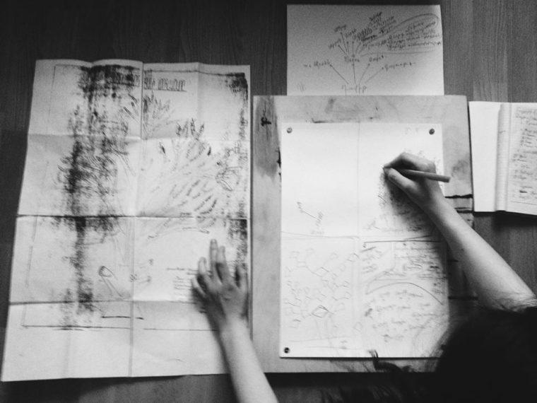 Процесс работы над проектом участницы выставки Бэлы Погосян
