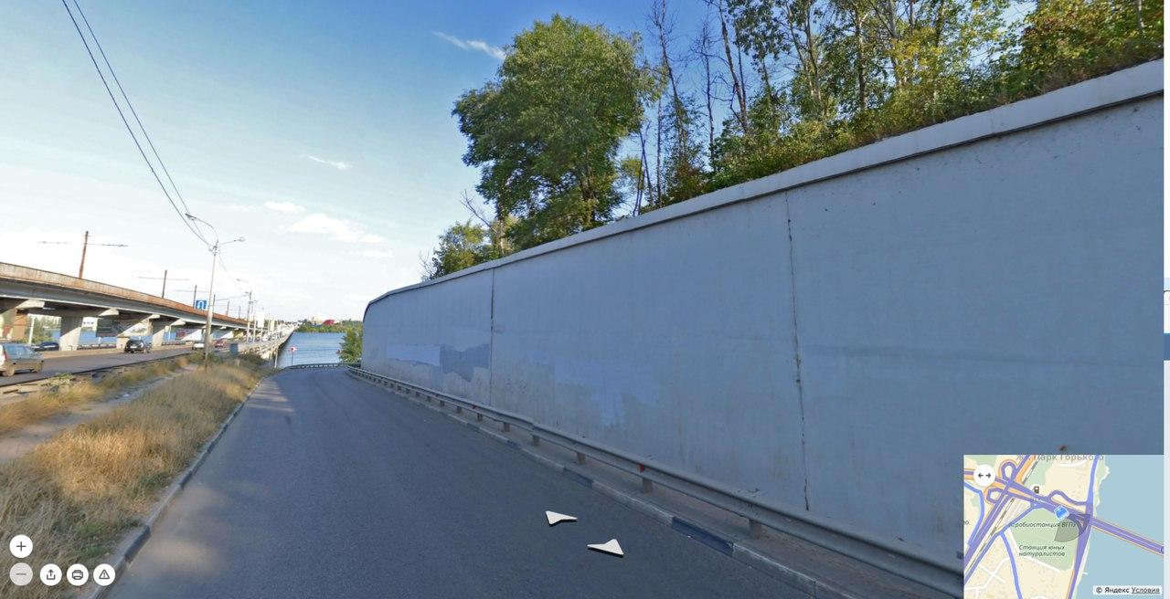 Этот забор управа Центрального района отдаст под творчество художников