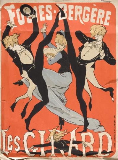 Плакат Жюля Шере