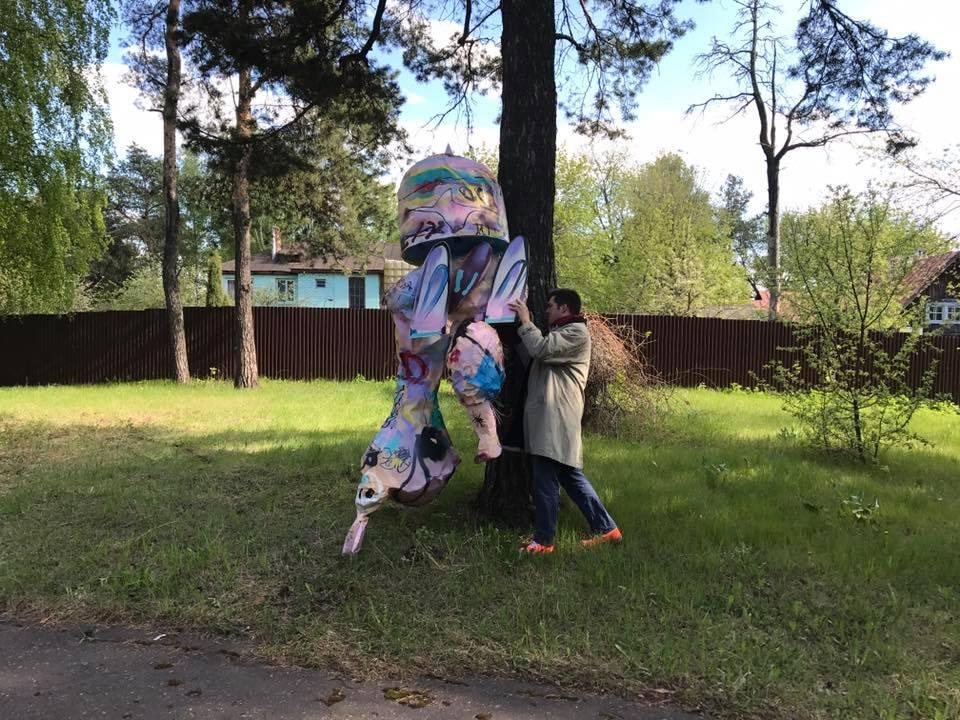 Скульптура для арт-резиденции в Выксе