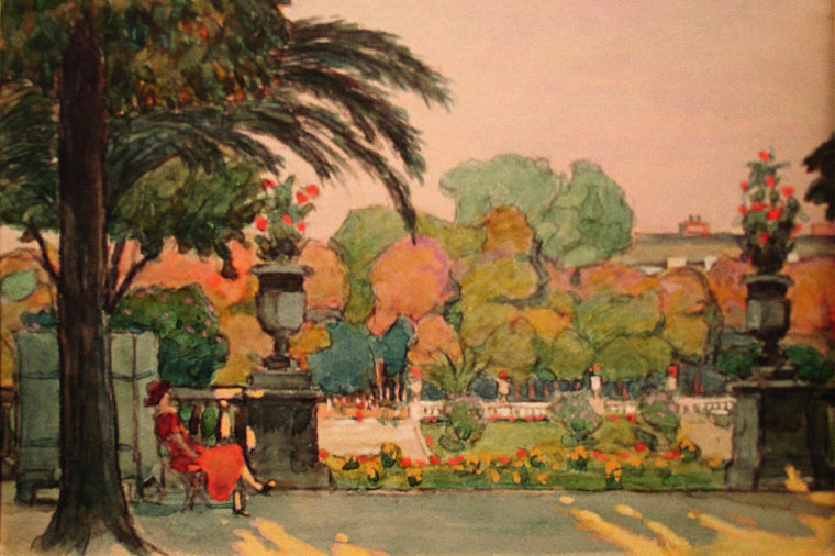 Люксембургский_сад