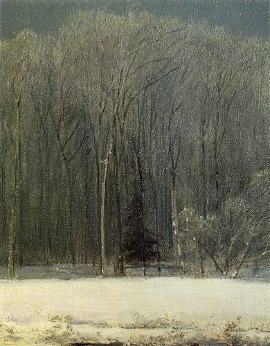 Фрагмент зимнего пейзажа