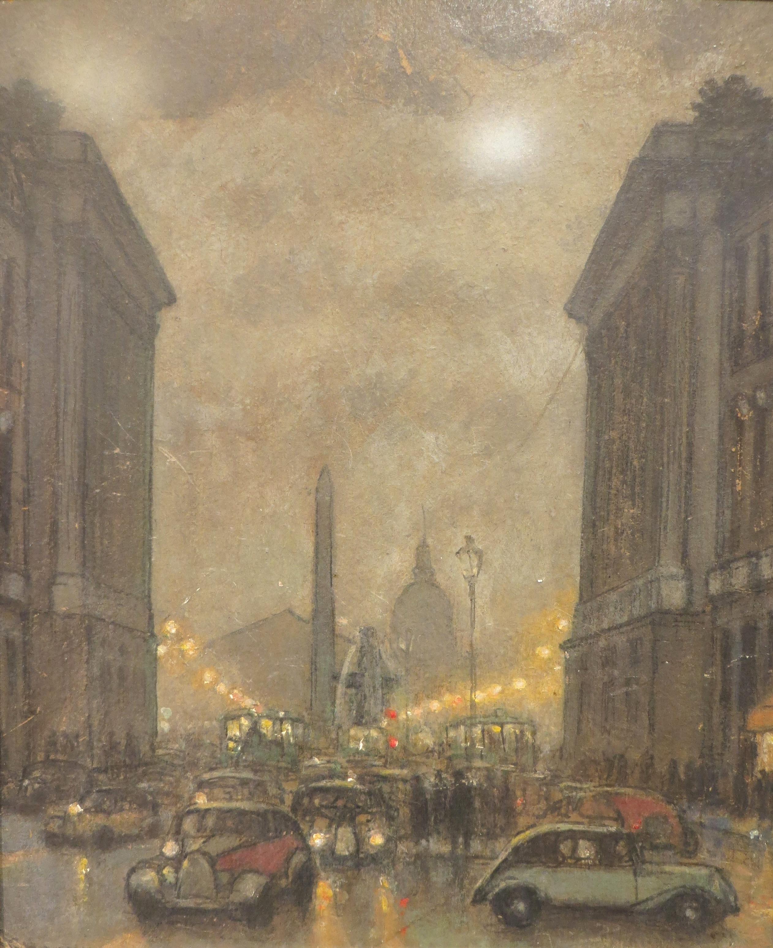 """""""Дождь в Париже"""", 1937"""