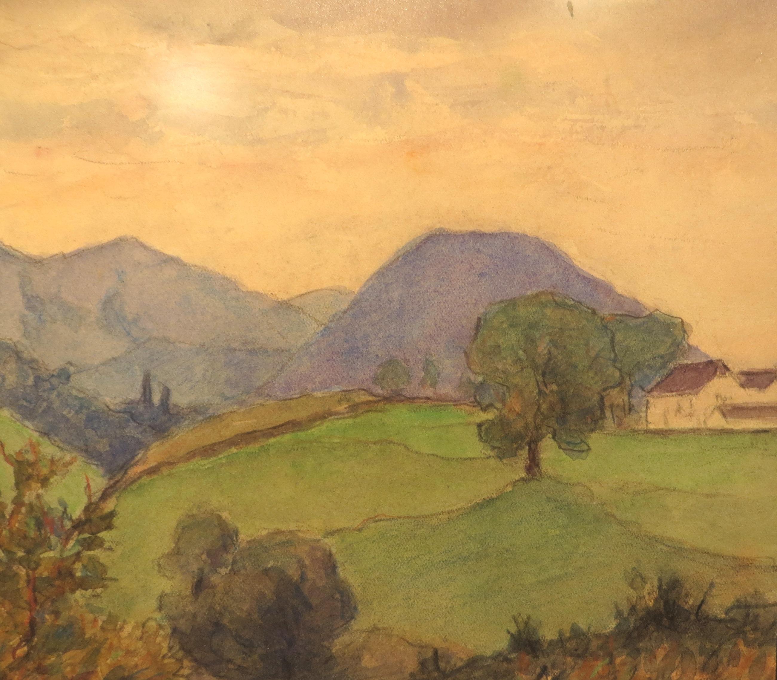 """Голубые горы"", 1939-1940"