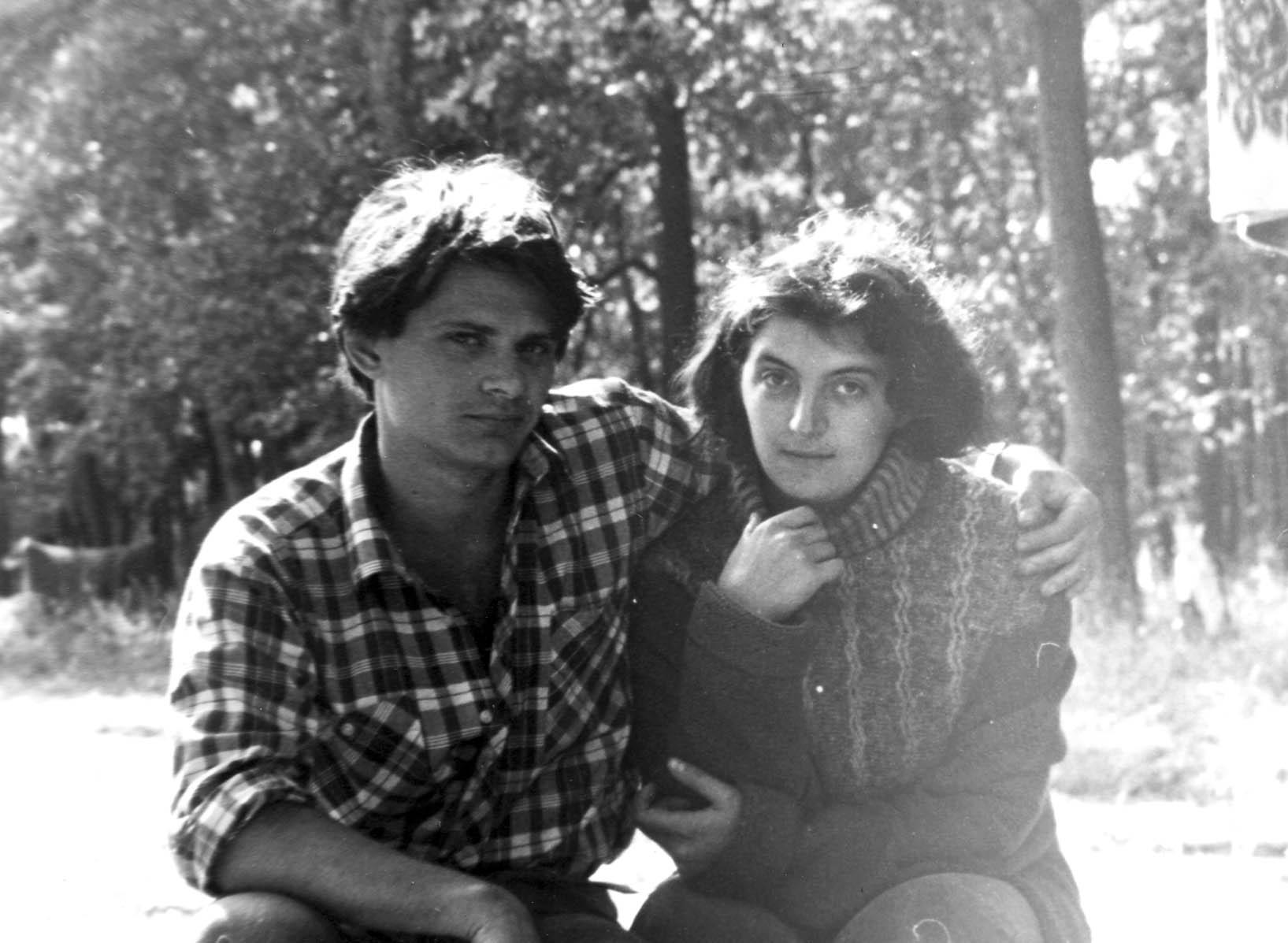 Роман и Вера Ковалевы, конец 80-х ( фото из личного архива Олега Швырева)