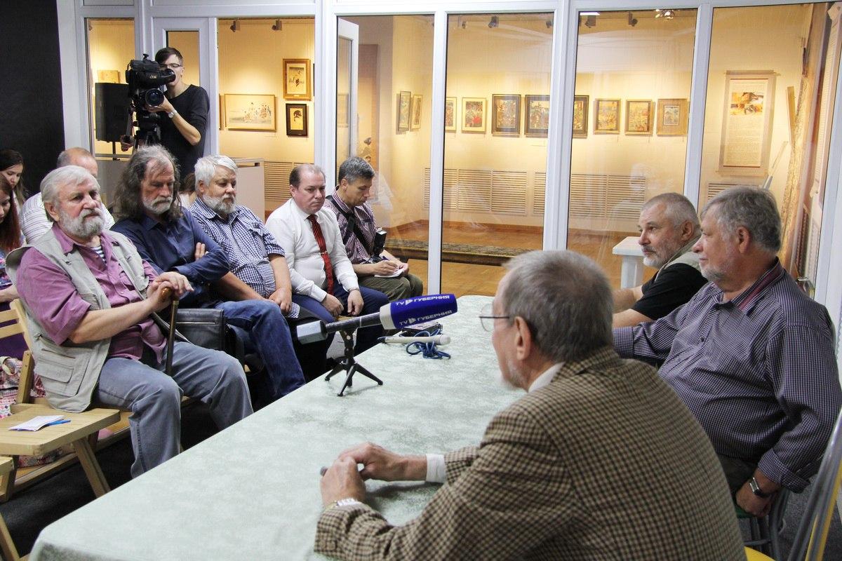 Пресс-конференция, посвященная проведению Международного пленэра