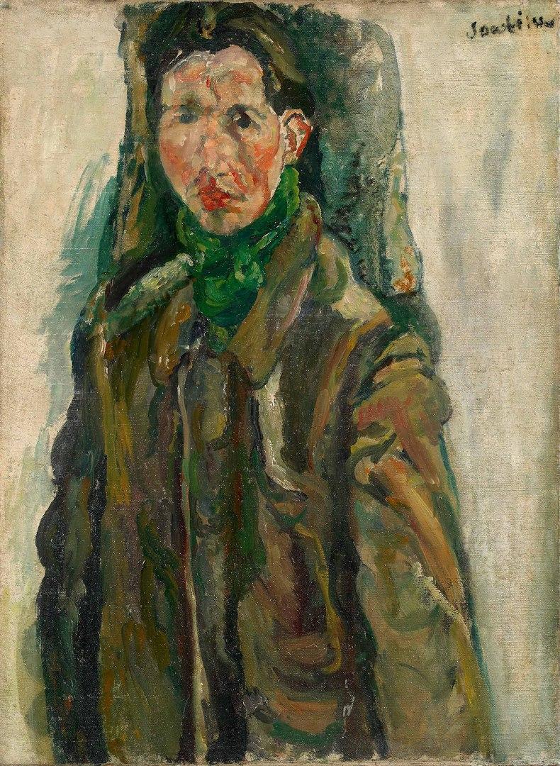 """Хаим Сутин """"Автопортрет"""", 1917"""
