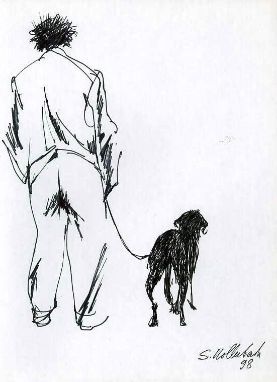 Рисунок Сергея Голлербаха