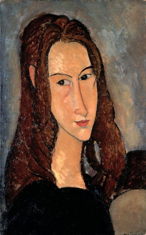 """Амадео Модильяни """"Портрет Жанны Эбютерн"""", 1917"""