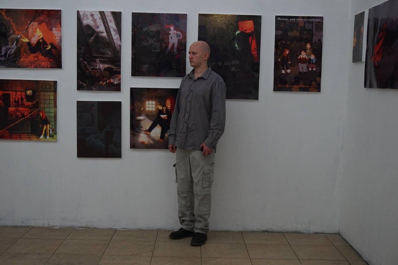 Александр Селезнев (фото из архива художника)