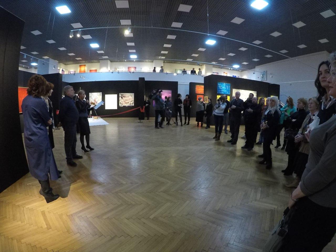 """Открытие выставки """"Грамматика абстракции"""" в музее им. И. Н. Крамского"""