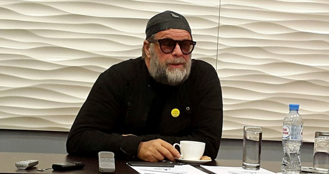 Борис Гребенщиков на пресс-конференции в Воронеже