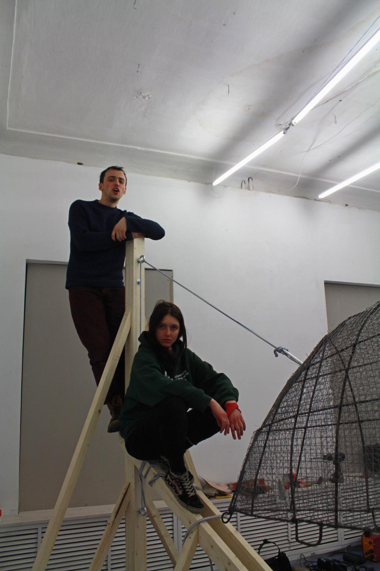 Екатерина Лузгина и Майк МакШейн