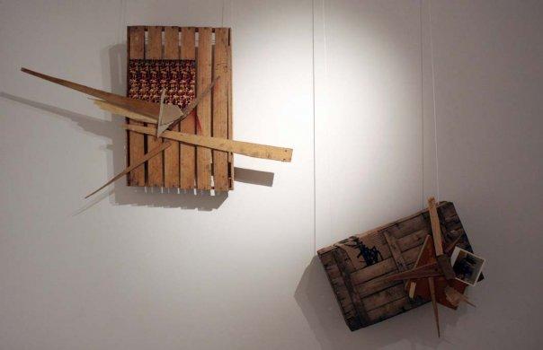 Работы Арсения Жиляева на выставке в Х.Л.А.М.е