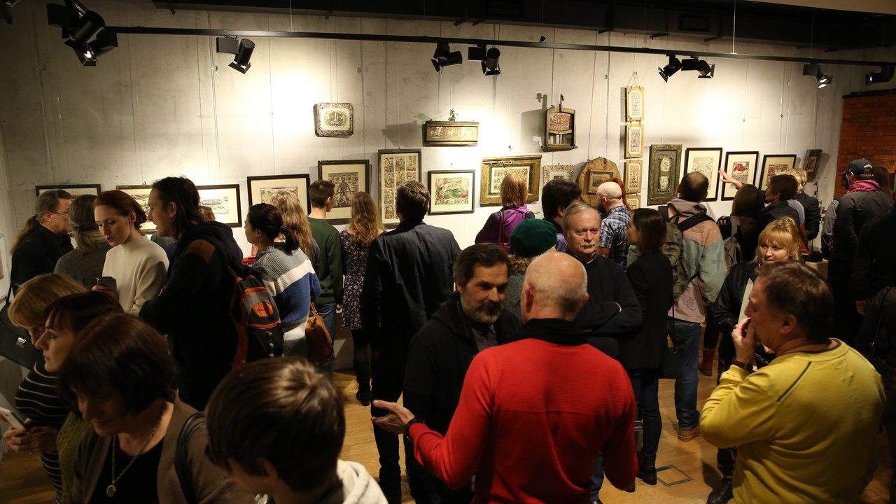 На открытии выставки Ножкина был аншлаг (фото Алексея Бычкова)
