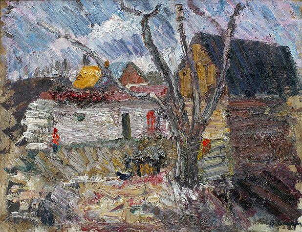 """""""Ветреный день весной"""", 1992"""