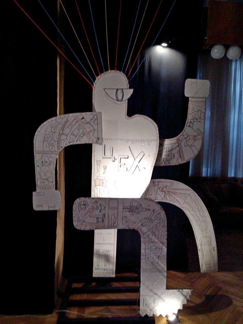Инсталляция Елены Олешниковой