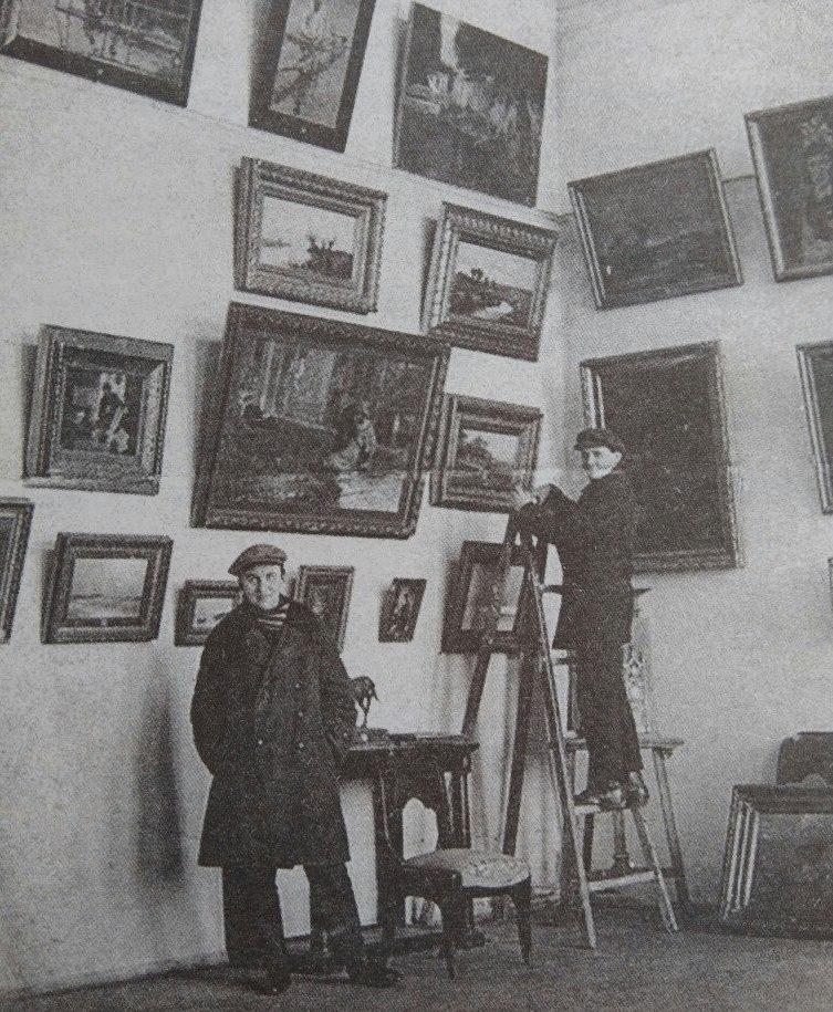 Монтаж экспозиции, 1930-е годы