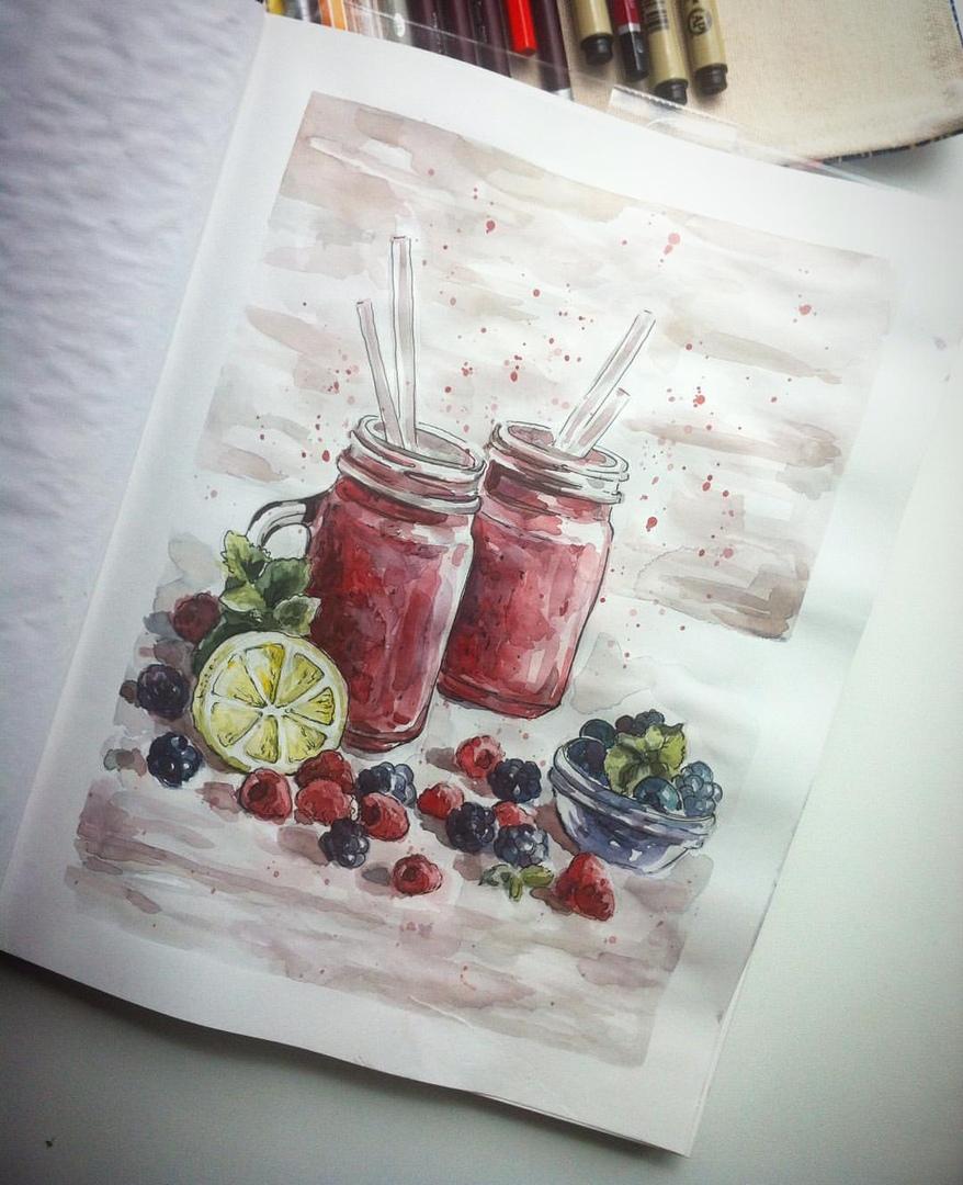 Рисунок Светланы Качуровской