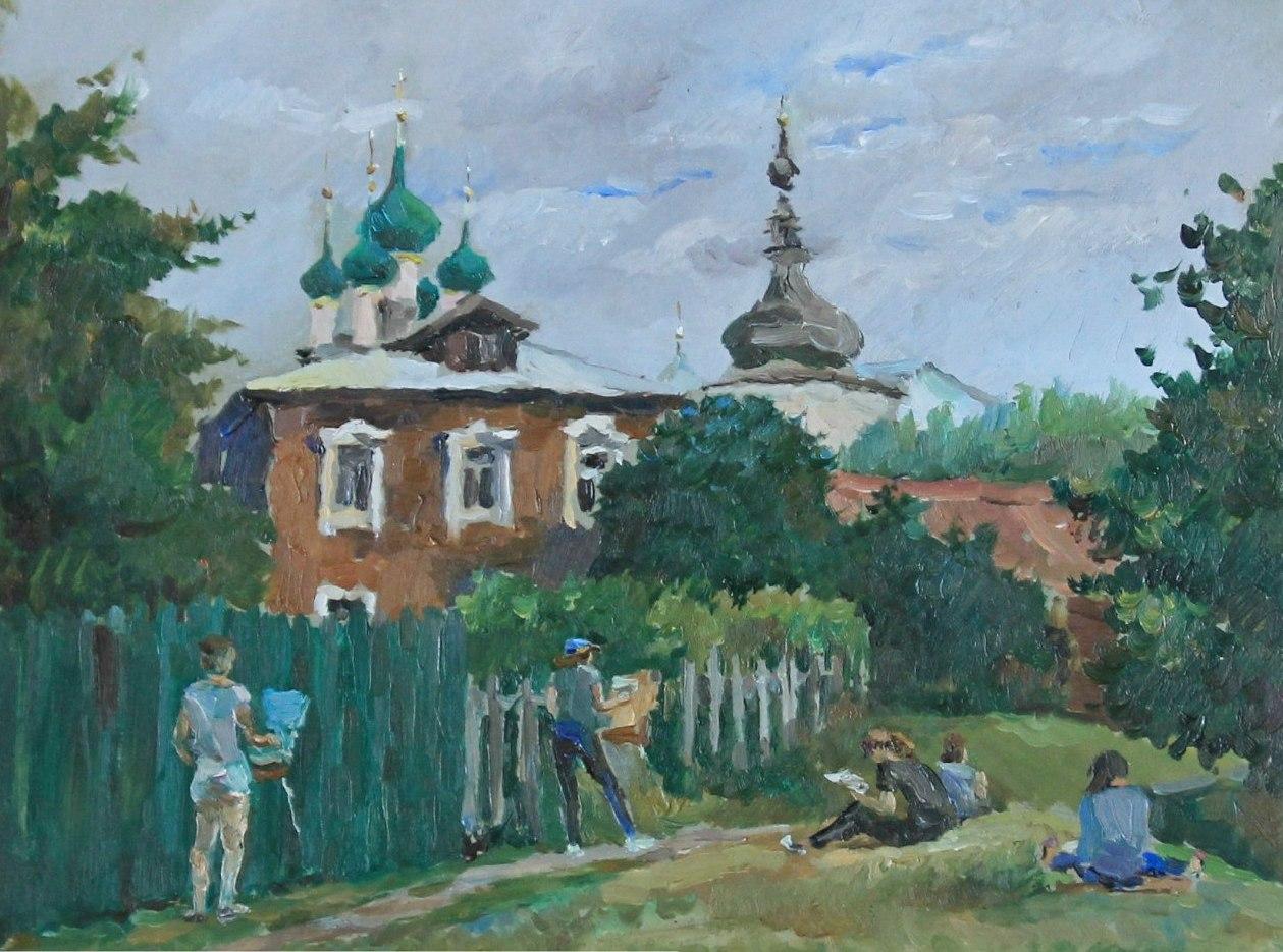 """""""Пленэрщицы"""", Максим Ечеин"""