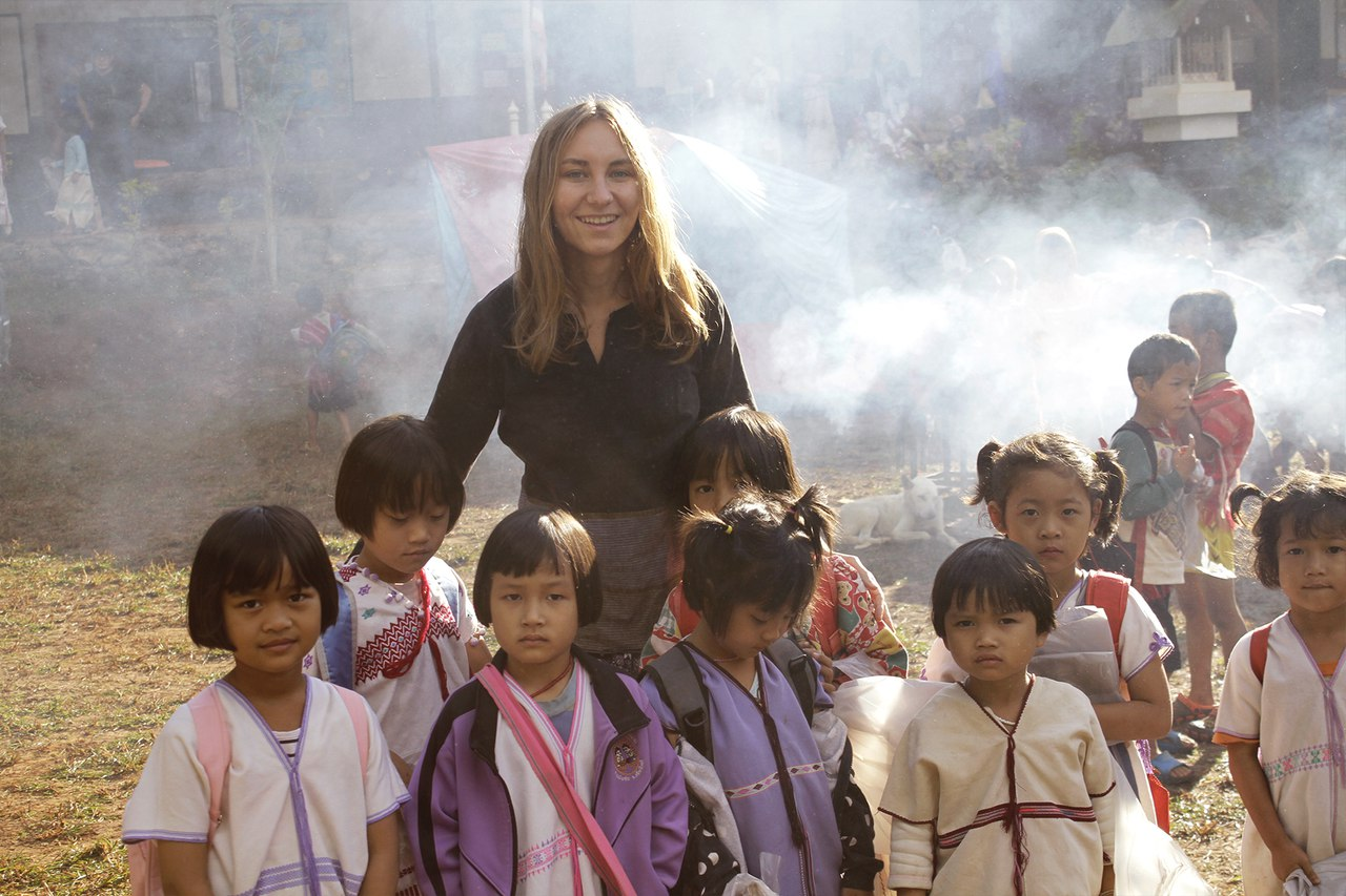 Олеся Скоробогатова в Тайланде