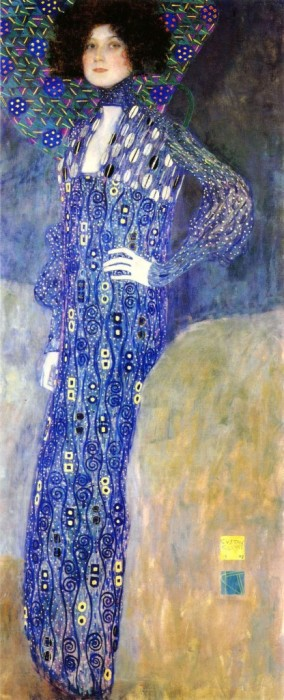Портрет Эмилии Флёге кисти Климта, 1902
