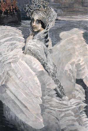 Жена вдохновила Врубеля на одну из его самых поэтичных картин