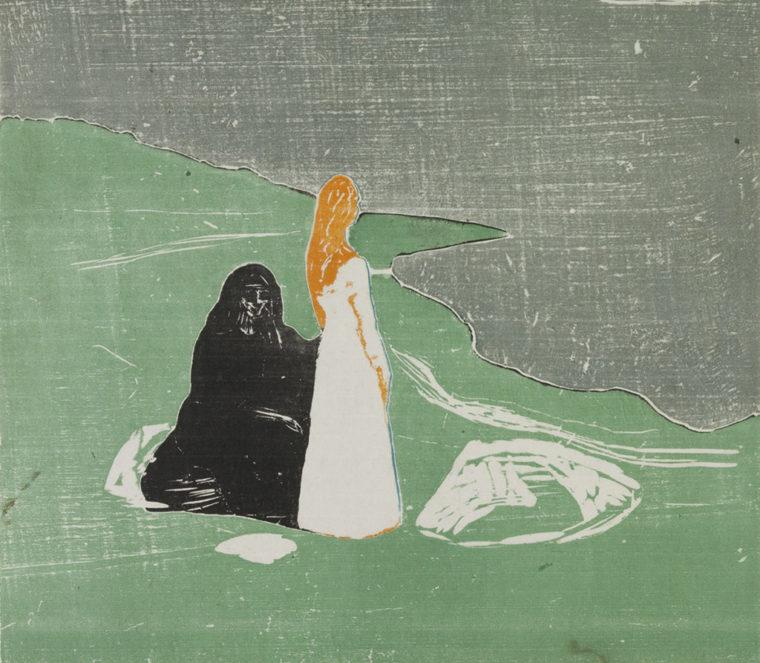 To kvinner på stranden