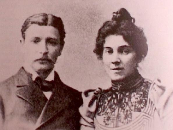 Михаил Врубель и Надежда Забела